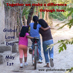 global-love-day-together-we-make-a-difference-girls