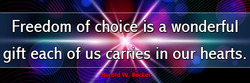 freedom-of-choice-is-a-wonderful-gift-each-of-us-carries-in-our-hearts-haroldwbecker-thelovefoundation-unconditionallove